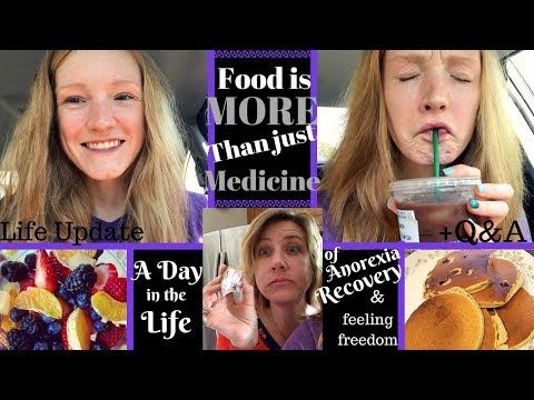 You deserve to eat NO MATTER WHAT!// A day in ED recovery// Update + Q&A