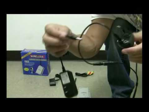 How to make any CCTV Camera Wireless with Wireless Adaptor