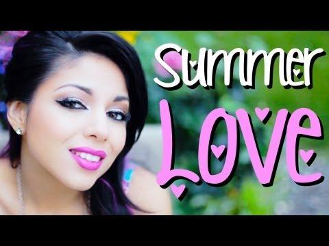 ♥ Summer Love Makeup Look! ♥ | Charisma Star