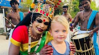 """Festival i Indien """"Lite rädd för Gud"""" VLOGG"""