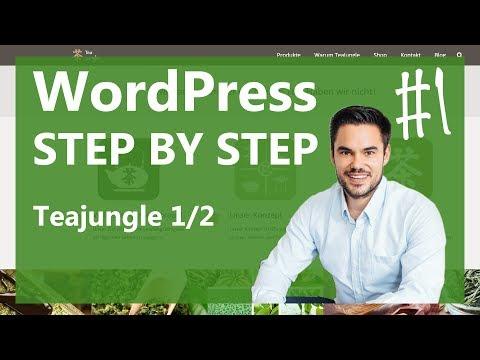 WordPress installieren mal so richtig einfach   Teil 1 von 2 / WP Step by Step #1