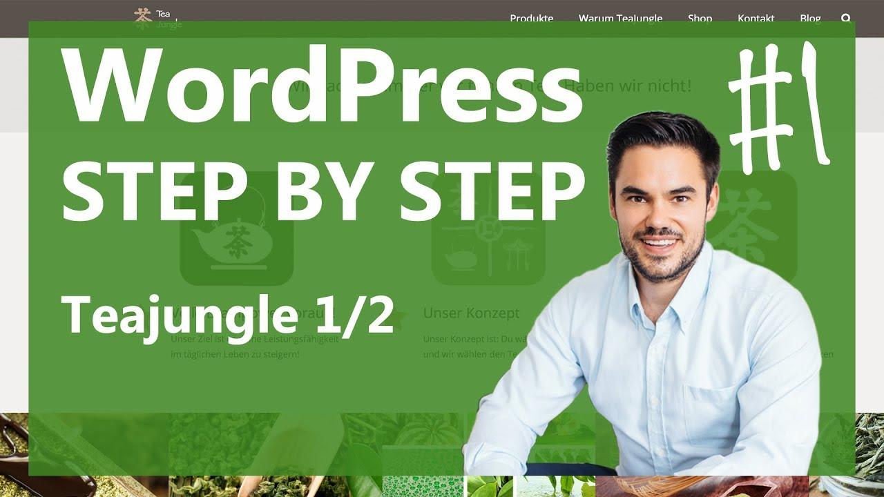 WordPress installieren mal so richtig einfach | Teil 1 von 2 / WP Step by Step #1