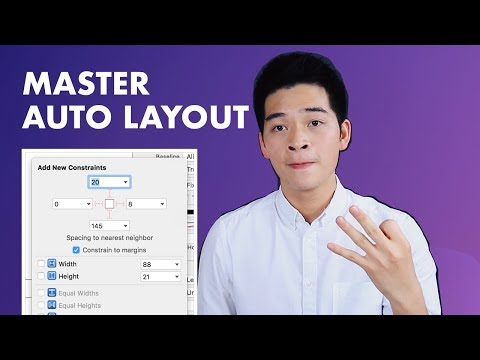 Auto Layout Tutorial in Xcode with Swift for iOS 11 | iOS Development Tutorial