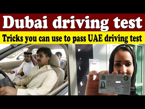 How to pass Dubai driving test - Driving School Lesson