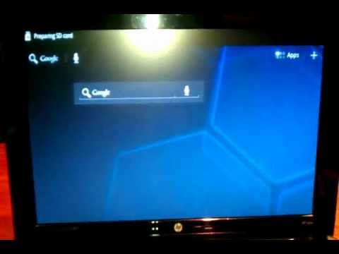How to install Android OS on  Mini Laptop HP Notebook