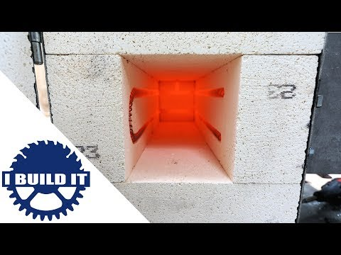 How To Make A Heat Treatment Oven - Middle