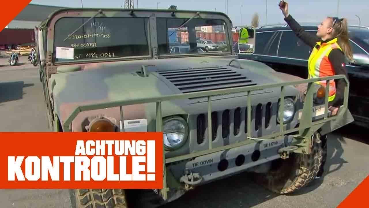 US-Militär Hummer importiert: Ist hier alles in Ordnung? | Achtung Kontrolle | Kabel Eins