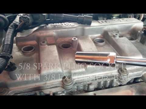 Mazda Protege Spark Plug Change