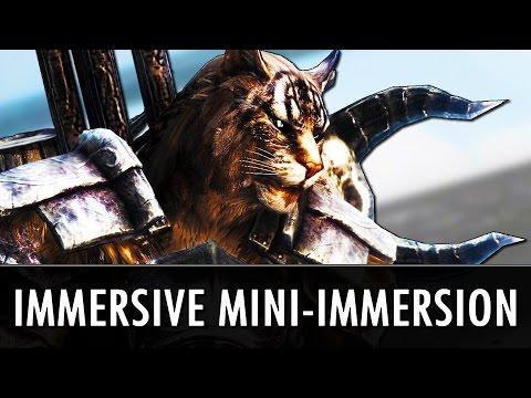 Skyrim Mods: Immerging Immersive Mini-Immersion Mods!