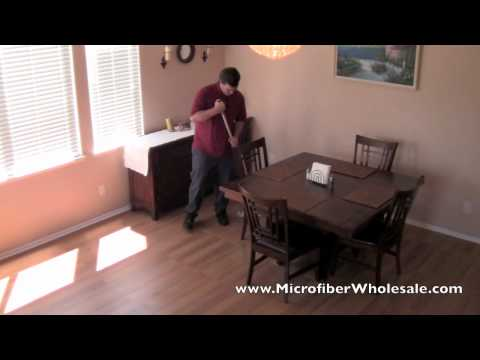 How to Use a Microfiber Mop for House Cleaning