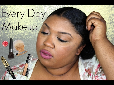 Everyday Makeup Routine  For BROWN skin