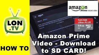 How to Download Amazon Prime Video to SD Card on Android Phones and Tablets
