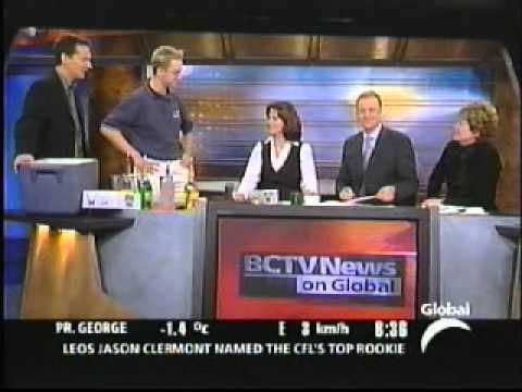 BCTV News Interview - ExtremeBartending.com
