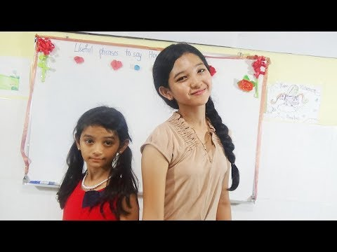 Learn English With Chhoulin and Sister, Easy Way To Know English Well, English For Beginner Part 1
