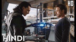 Download Tony Stark vs Loki Fight Scene in Hindi   The Avengers (2012)   Ironman Funny Scene HD Video