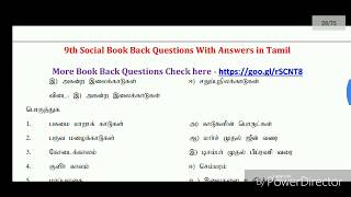 TNPSC GROUP4 Daily 50 General Studies Questions and Answers - EXAM