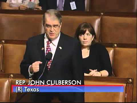Congressman Culberson Speaks for Restoring State and Parental Rights in Education