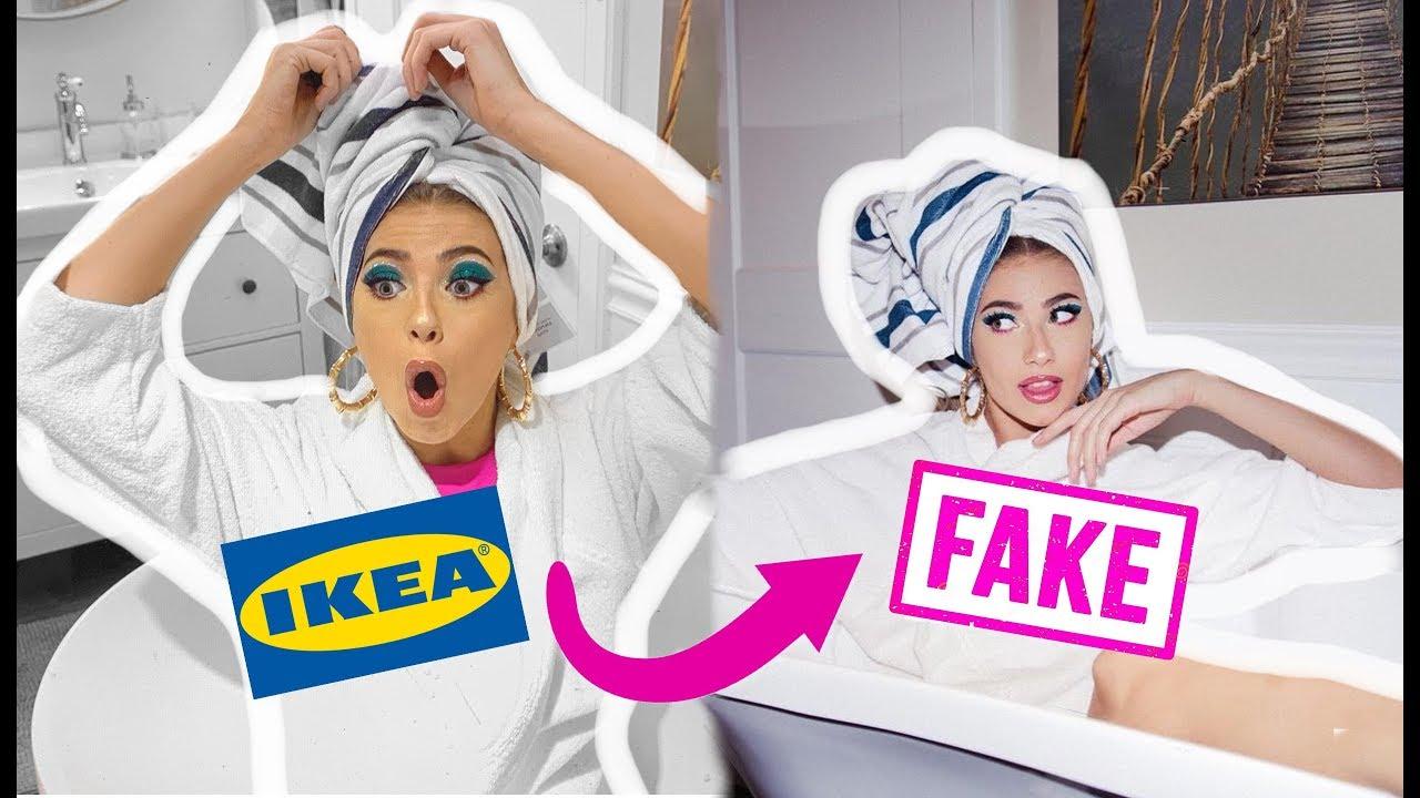 i FAKED a vacation at IKEA.