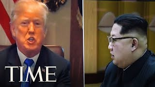 President Trump Cancels Nuclear Summit With North Korean Leader | TIME