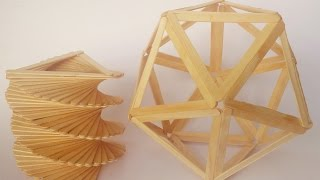 ABC TV | How To Make a Lamp | Vase From  Popsicle Sticks (3 in 1) - Craft Tutorial