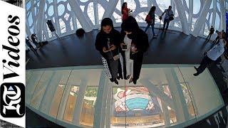 An inside tour of Dubai Frame, the emirate