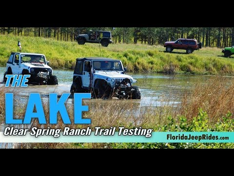 The Lake - Testing a potential trail for Jeepin with Judd 2019