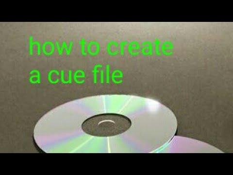 Create CUE file easily