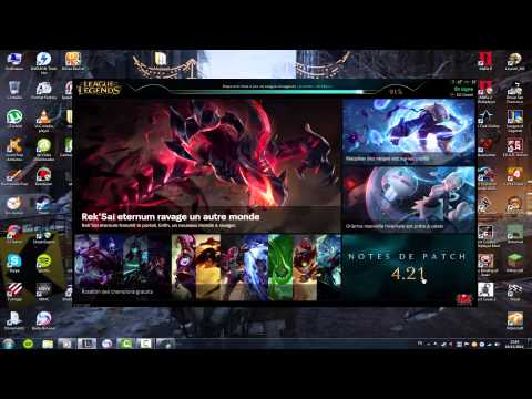 Speed up download patch League of Legends [2017]