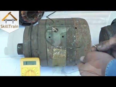Identification of Faults in a motor (Hindi) (हिन्दी)