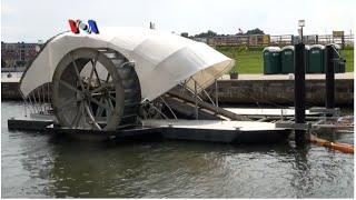 Membersihkan Sungai dengan Kincir Air - Liputan Feature VOA