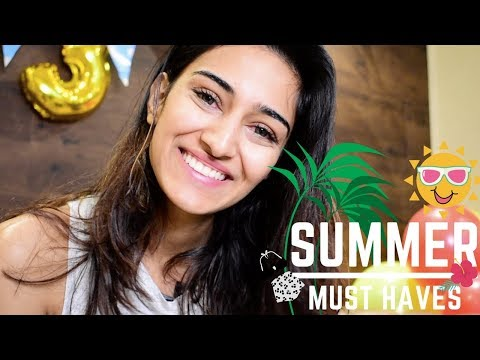 summer skin care must haves