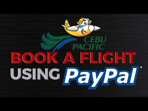 Book a Cebu Pacific Flight Using Paypal