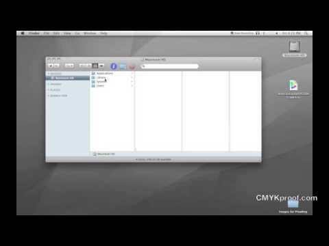 Installing Colorsync Profiles (mac)