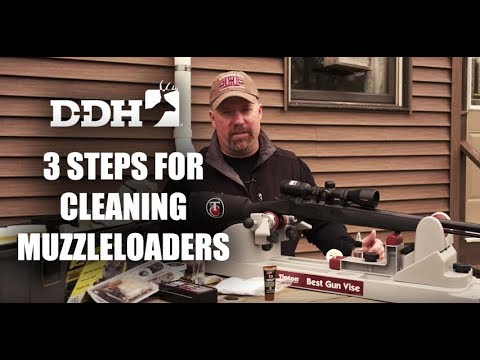 Top 3 Steps for Cleaning Muzzleloaders | Deer Talk Now @deerhuntingmag