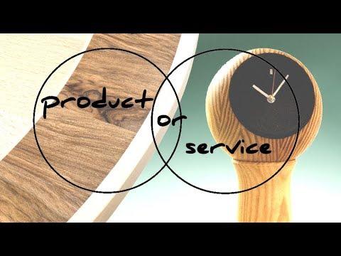 Product or Service? - Furniture Designer Makers