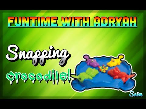 Snapping Crocodile! - FUNTime With ADRYAH