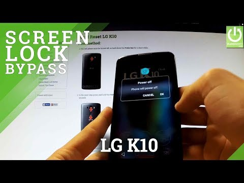 Hard Reset LG K10 - Remove Pattern and  Password Lock in LG K10