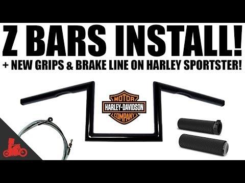 HOW TO: Install Z Bars on Harley-Davidson Sportster