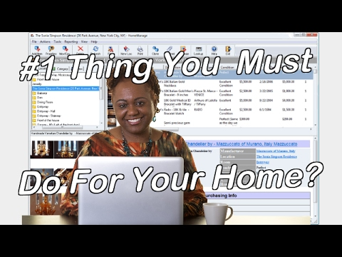 HomeManage Home Inventory Software