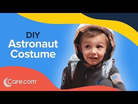 How to Make an Astronaut Costume - Easy DIY Halloween   Care.com