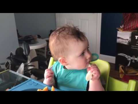 Baby led weaning - fresh mozzarella