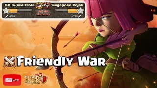 Download TH12 VS TH12! Friendly War : Live Attack :: Clash Of Clans! Video