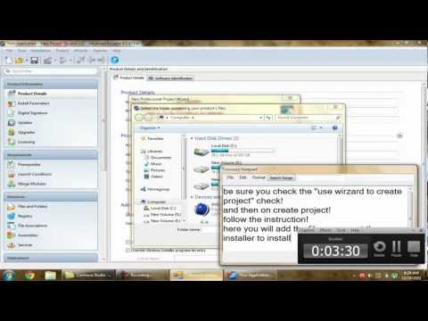 Make a professional installer for your visual basic software!
