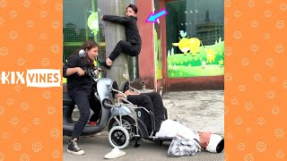 Funny videos 2020 ✦ Funny pranks try not to laugh challenge P154