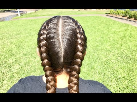 2 Dutch Braids (from start to finish)