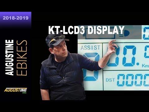 ebike Tips. Programming the 24v, 36v, 48v, KT-LCD3 on-board controller computer