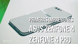 Asus Zenfone 4 y 4 Pro, toma de contacto: mejoras evidentes y salto a doble cámara