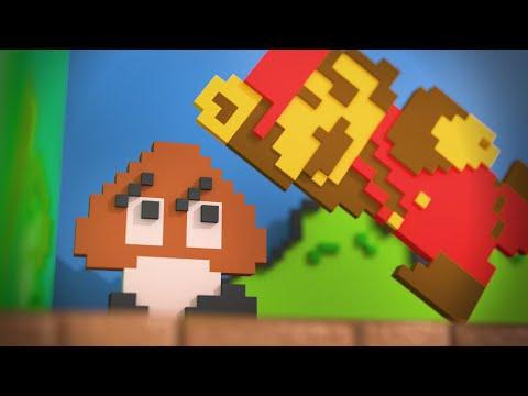 Super Modern Mario Bros. (E3 2012 gameplay)