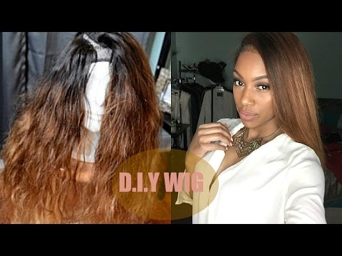 Tutorial: V/ U Part Wig ft. Aliexpress Hair (PART 2)