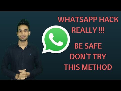 whatsapp hack kaise kare | Be Safe Don't Try This Method